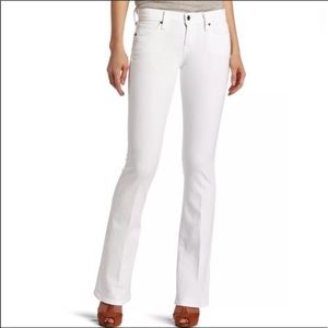 Lucky Brand White Jeans Sofia Boot Cut Women's 30